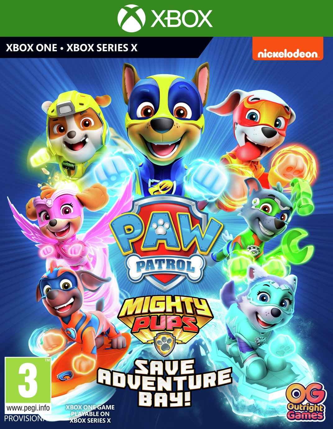 Paw Patrol 2: Mighty Pups Save Adventure Bay Xbox One Game