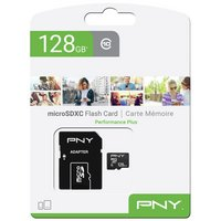 PNY Performance Plus microSD Memory Card - 128GB