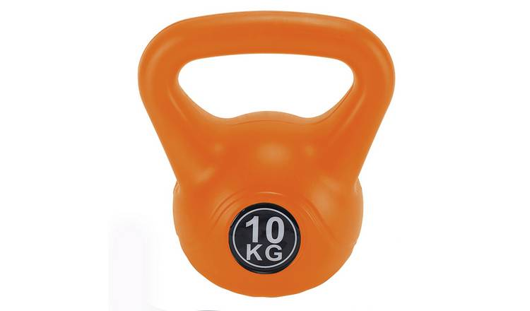 Opti Vinyl Kettlebells Orange - 10kg