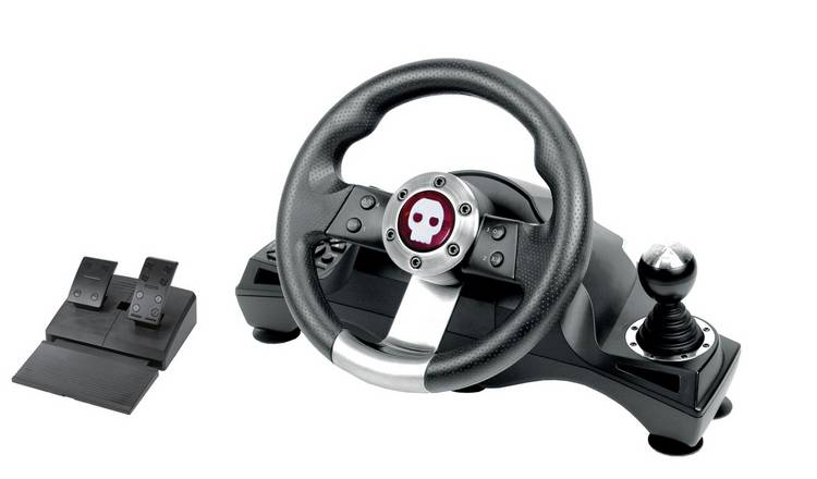 Numskull Pro Steering Wheel for Xbox One, PS4, PS3 & PC