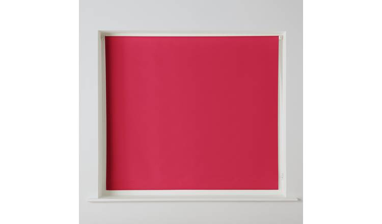 Argos Home Blackout Insulating Roller Blind - 2ft - Ruby