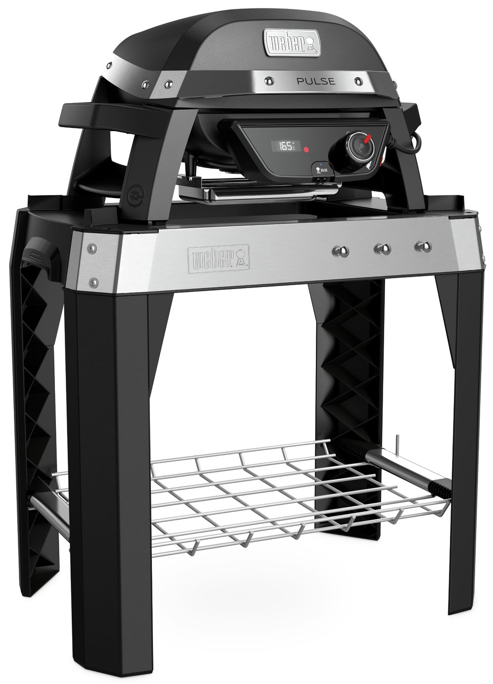 Weber Pulse 1000 Electric BBQ Grill with Stand