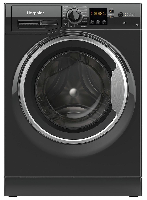 Hotpoint NSWM742UBS 7KG 1400 Spin Washing Machine - Black