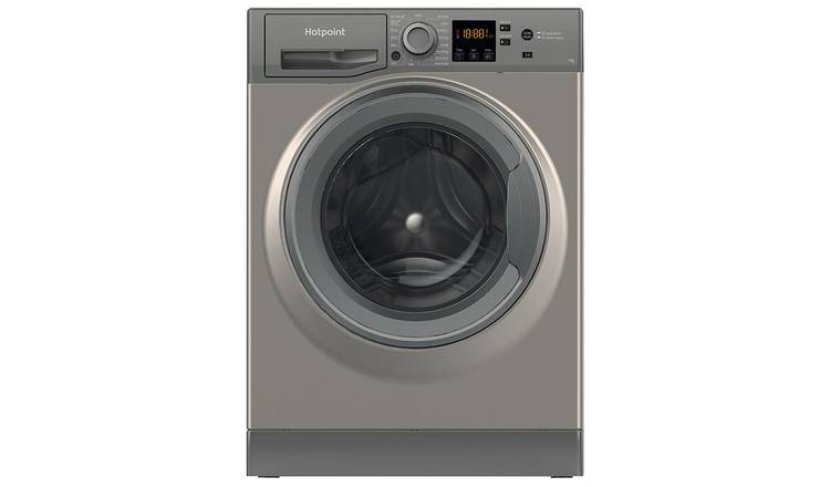 Hotpoint NSWM742UGG 7KG 1400 Spin Washing Machine - Graphite