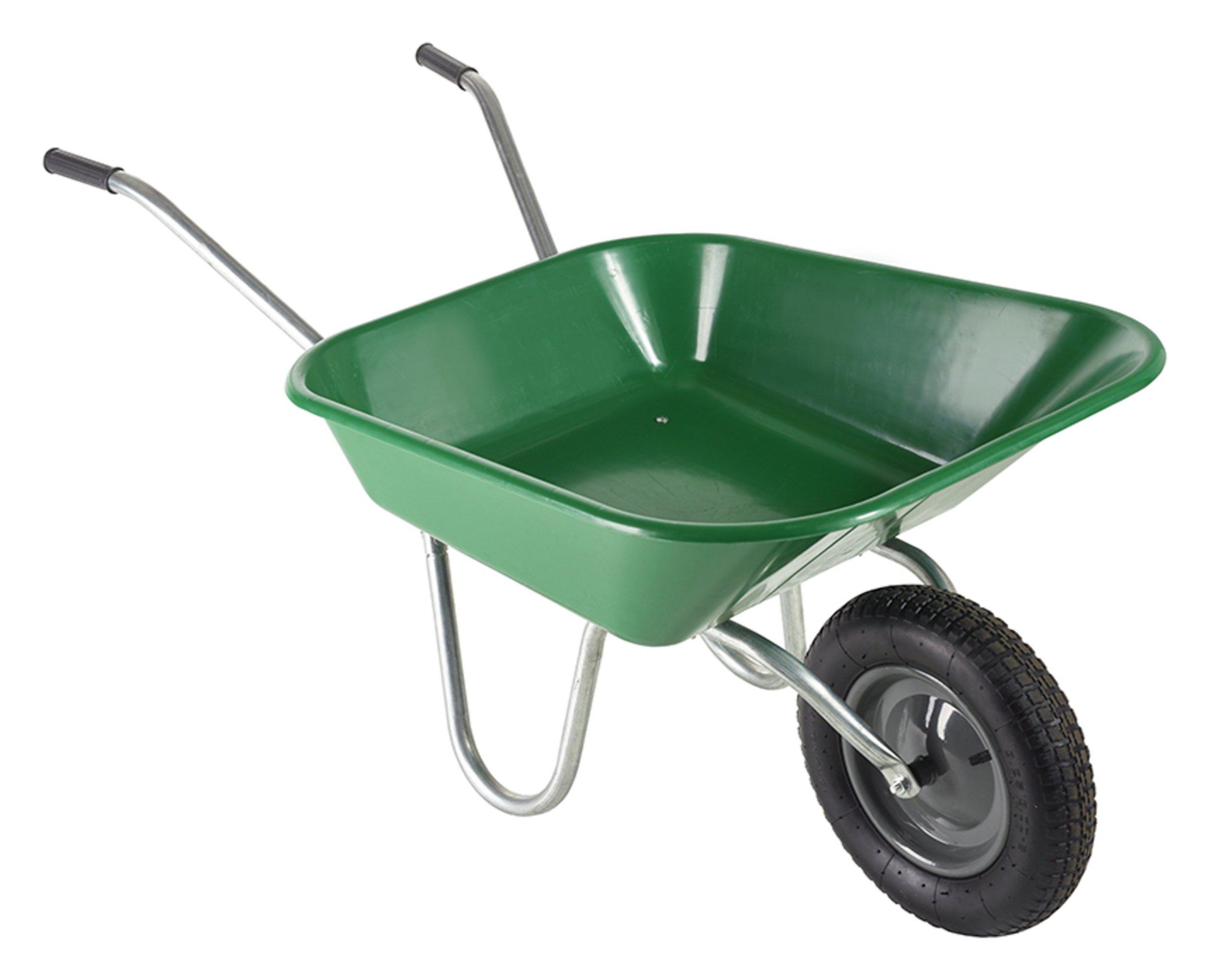 Haemmerlin 90L Polypro Wheelbarrow - Green