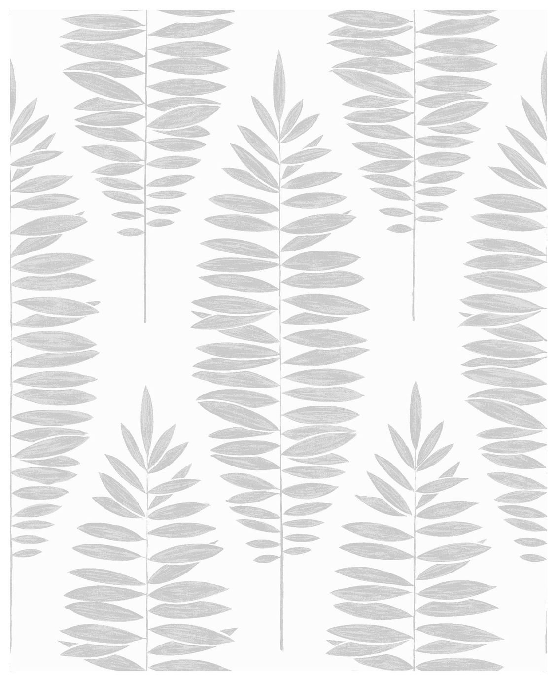 Image of Boutique Lucia Wallpaper White Silver