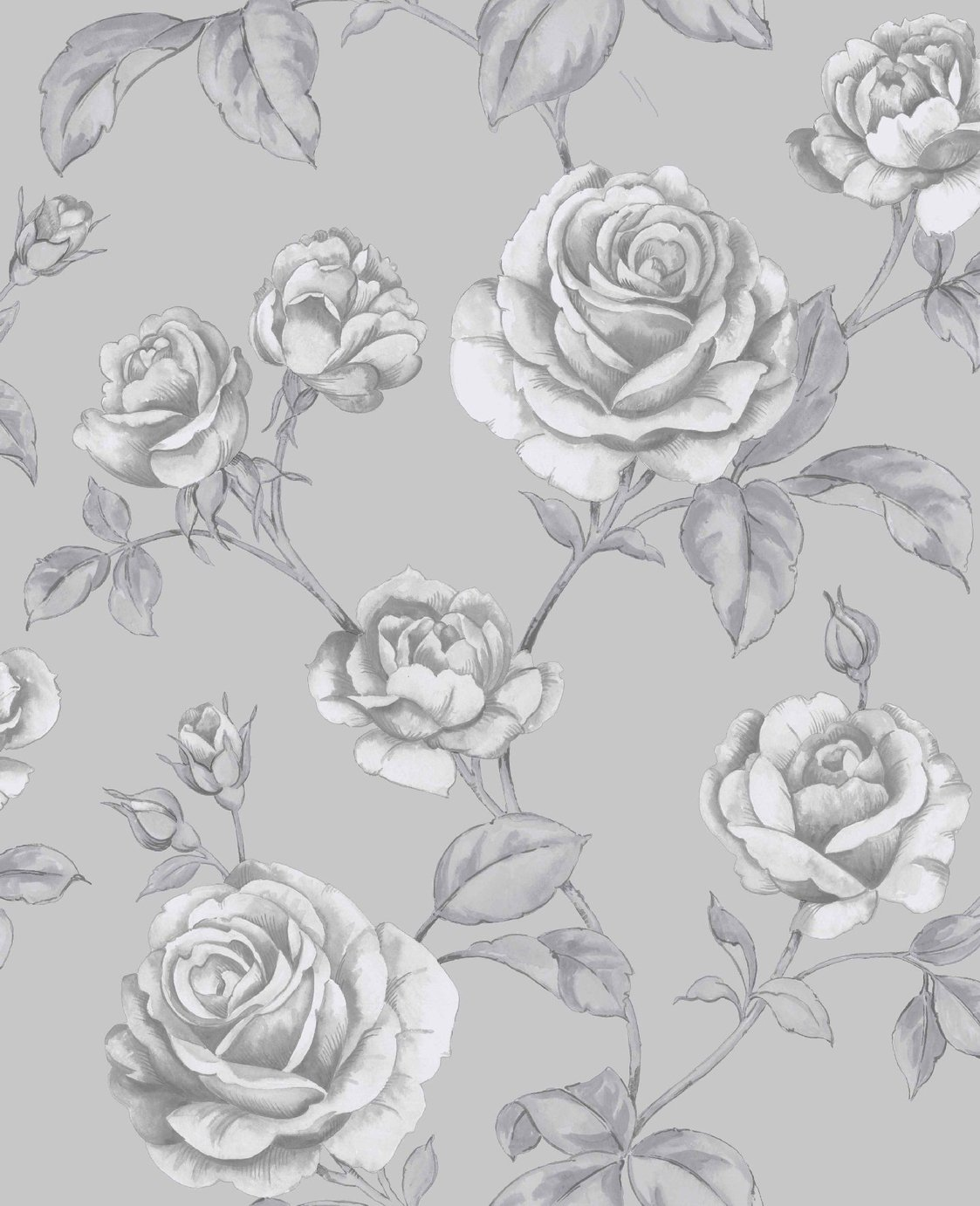 Image of Graham & Brown Boutique Countess Wallpaper Silver