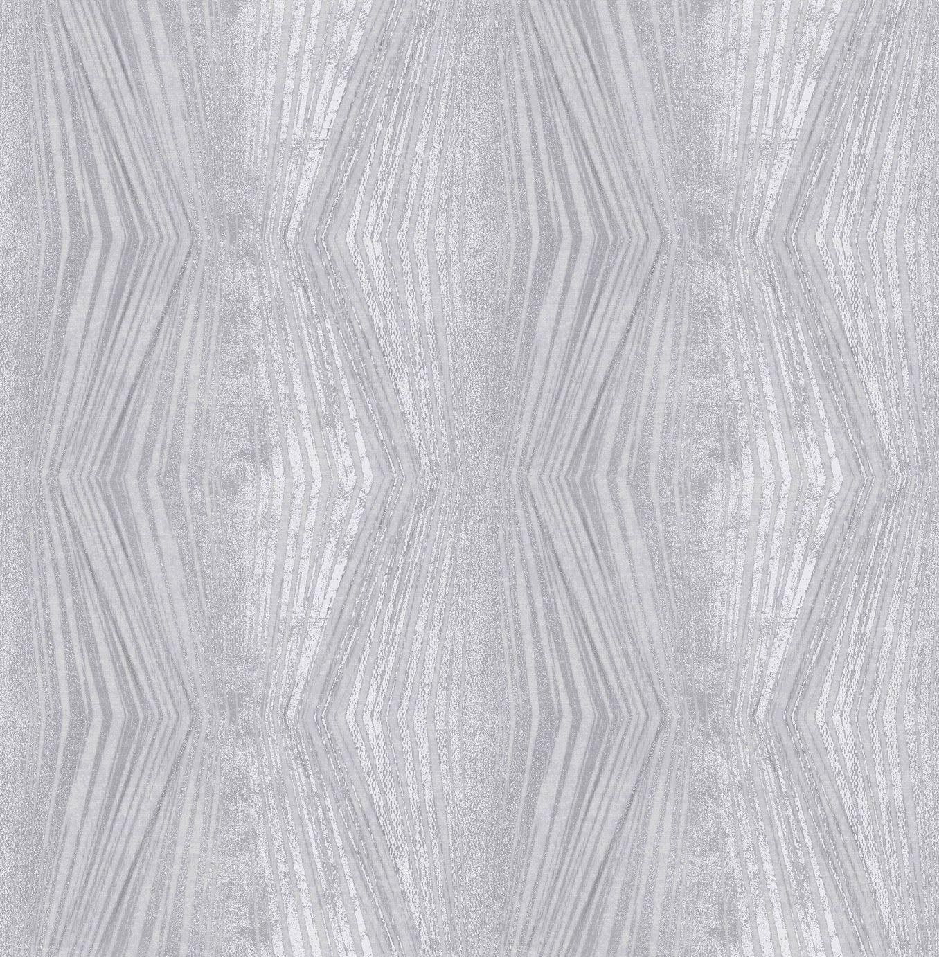 Image of Graham & Brown Boutique Vermeil Stripe Wallpaper Silver