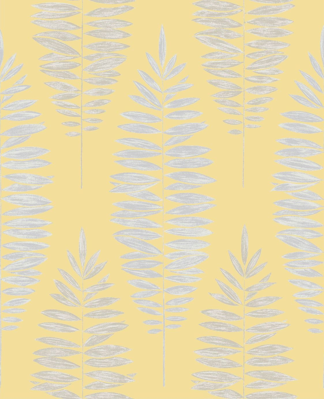 Image of Graham & Brown Boutique Lucia Wallpaper Yellow