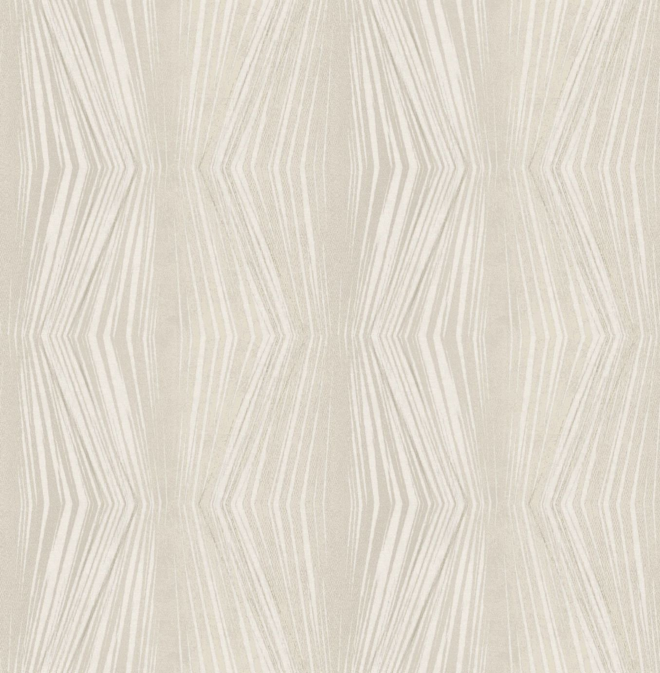 Image of Graham & Brown Boutique Vermeil Stripe Wallpaper Cream
