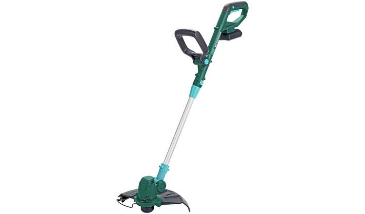 McGregor 25cm Cordless Grass Trimmer with 2 Batteries - 18V