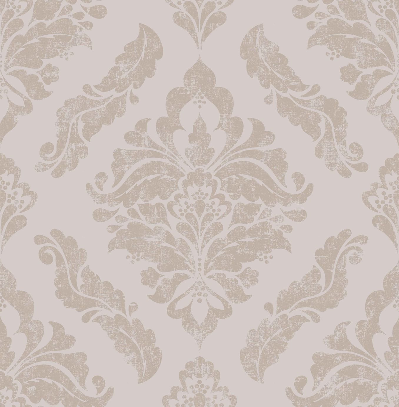 Image of Graham & Brown Boutique Damaris Wallpaper Rose Gold