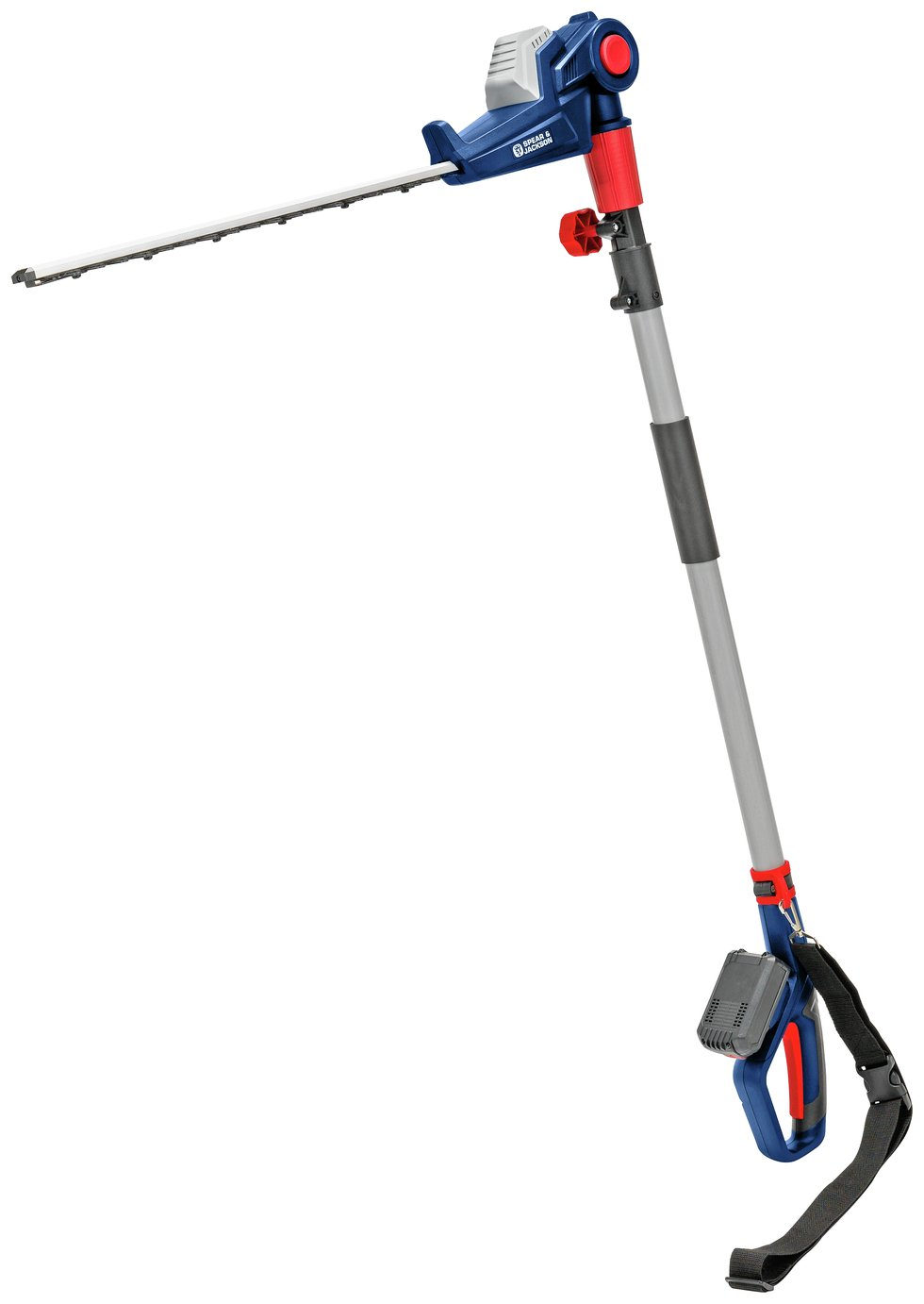 Spear & Jackson S18EHP Cordless Pole Hedge Trimmer - 18V