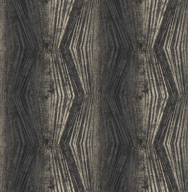 Image of Boutique Vermeil Stripe Wallpaper Charcoal