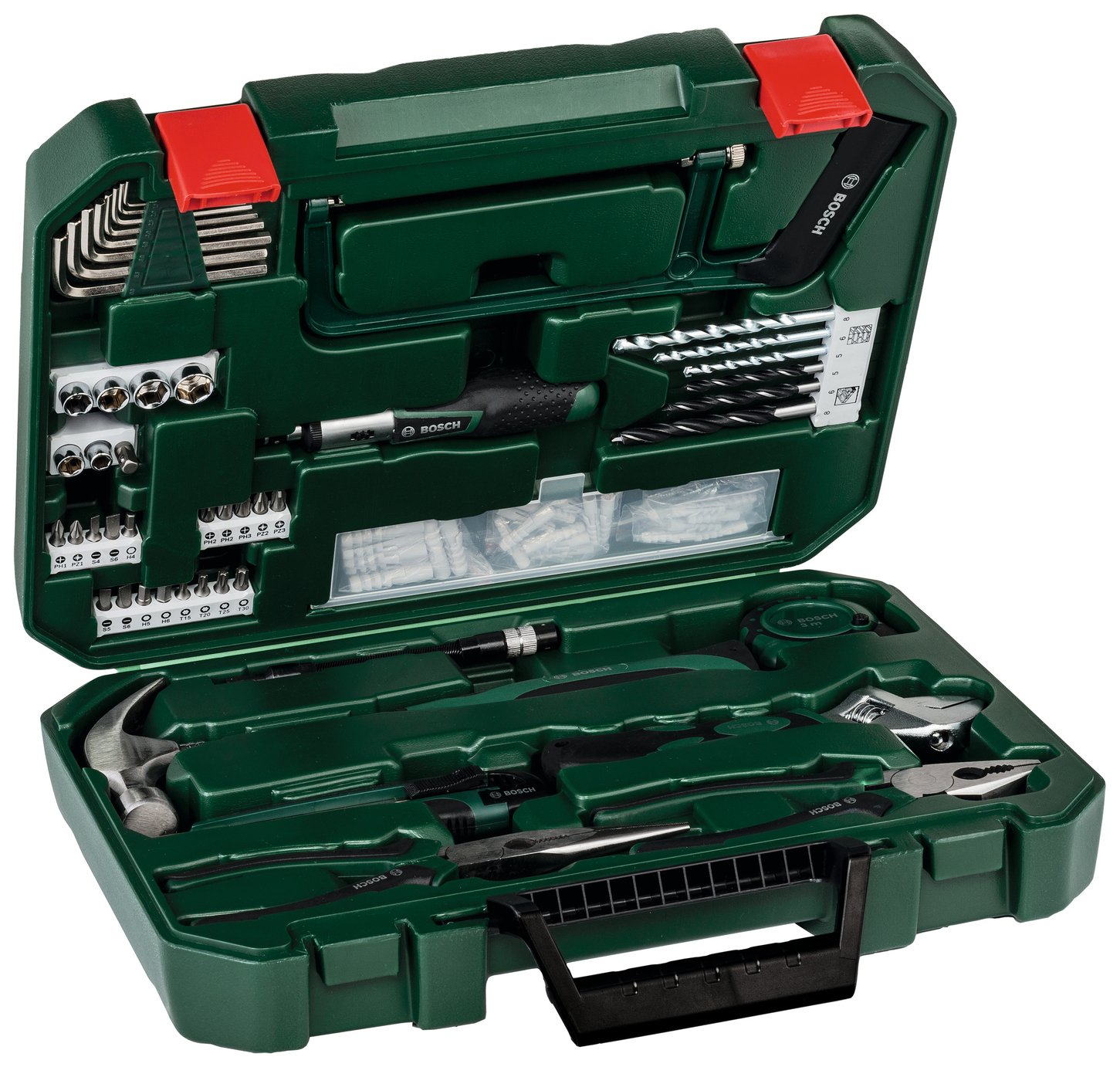 Image of Bosch 111 Piece Hand Tool Kit