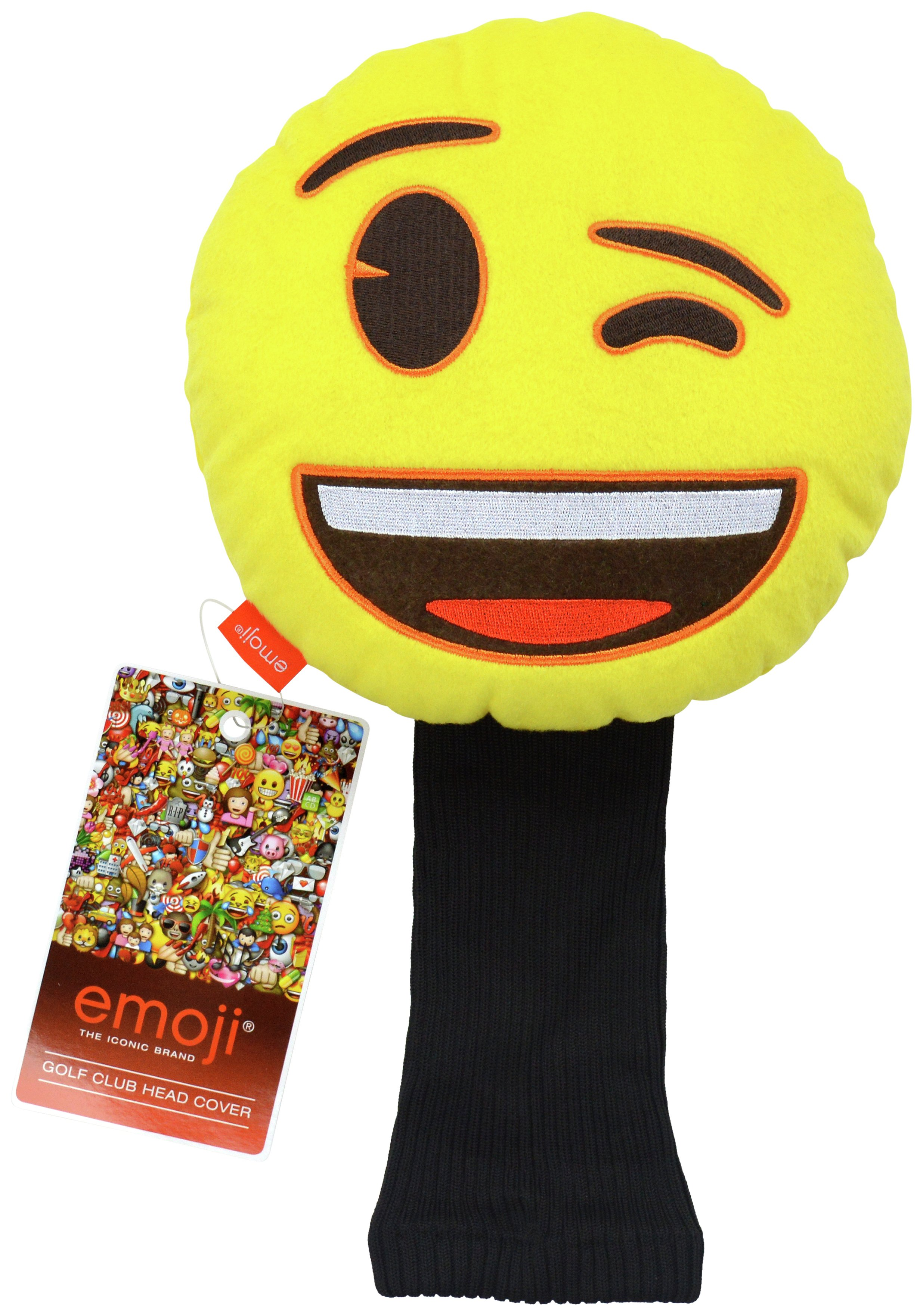Emoji Golf Headcover - Wink