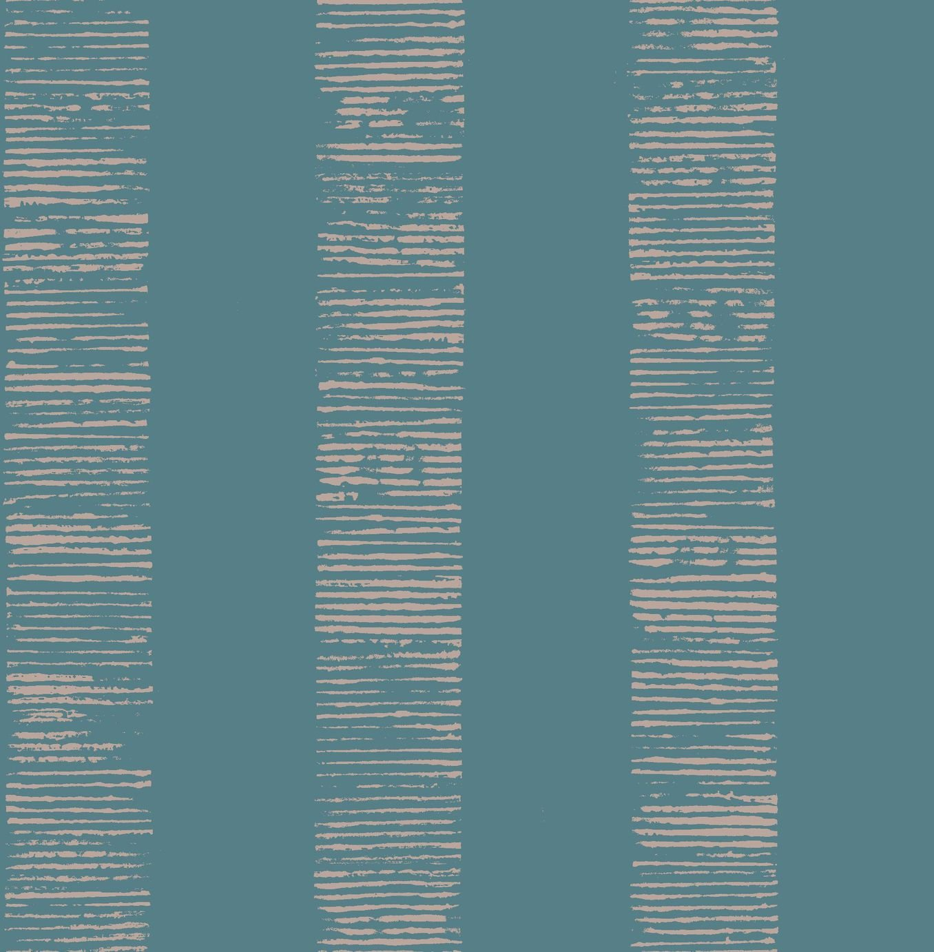 Image of Graham & Brown Boutique Mara Stripe Wallpaper Turquoise