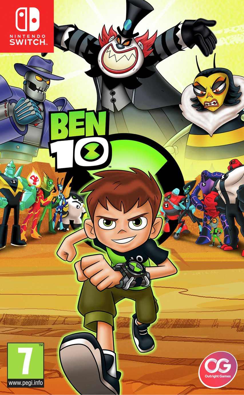 Image of Ben 10 Nintendo Switch Game