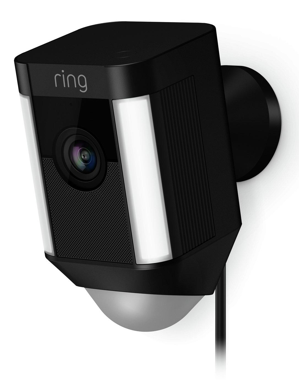 Ring Spotlight Cam Wired - Black