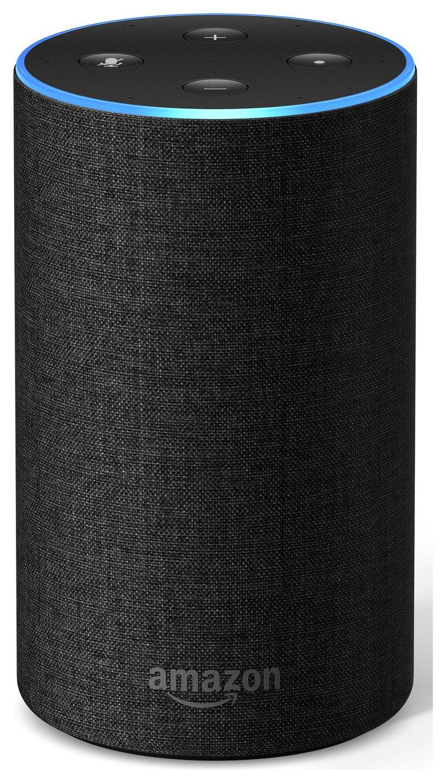 All-new Amazon Echo (2nd generation) - Charcoal Fabric