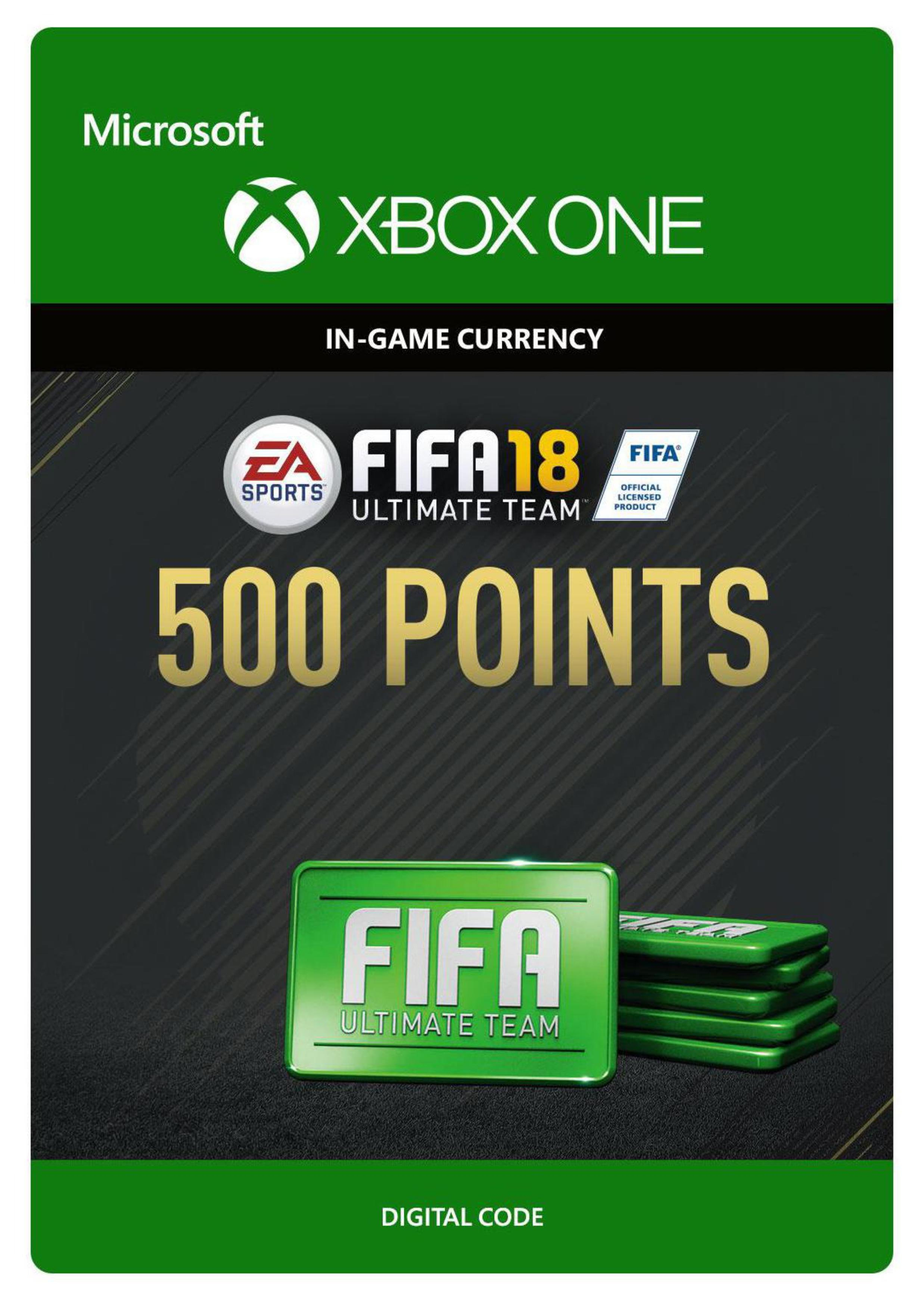 'Fifa 18 Ultimate Team - 500 Points Xbox One Receipt Code
