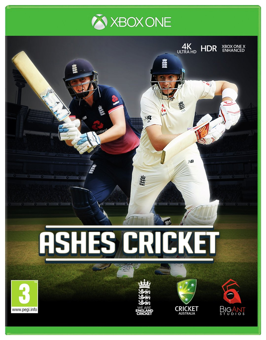 Image of Ashes Cricket Xbox One Game