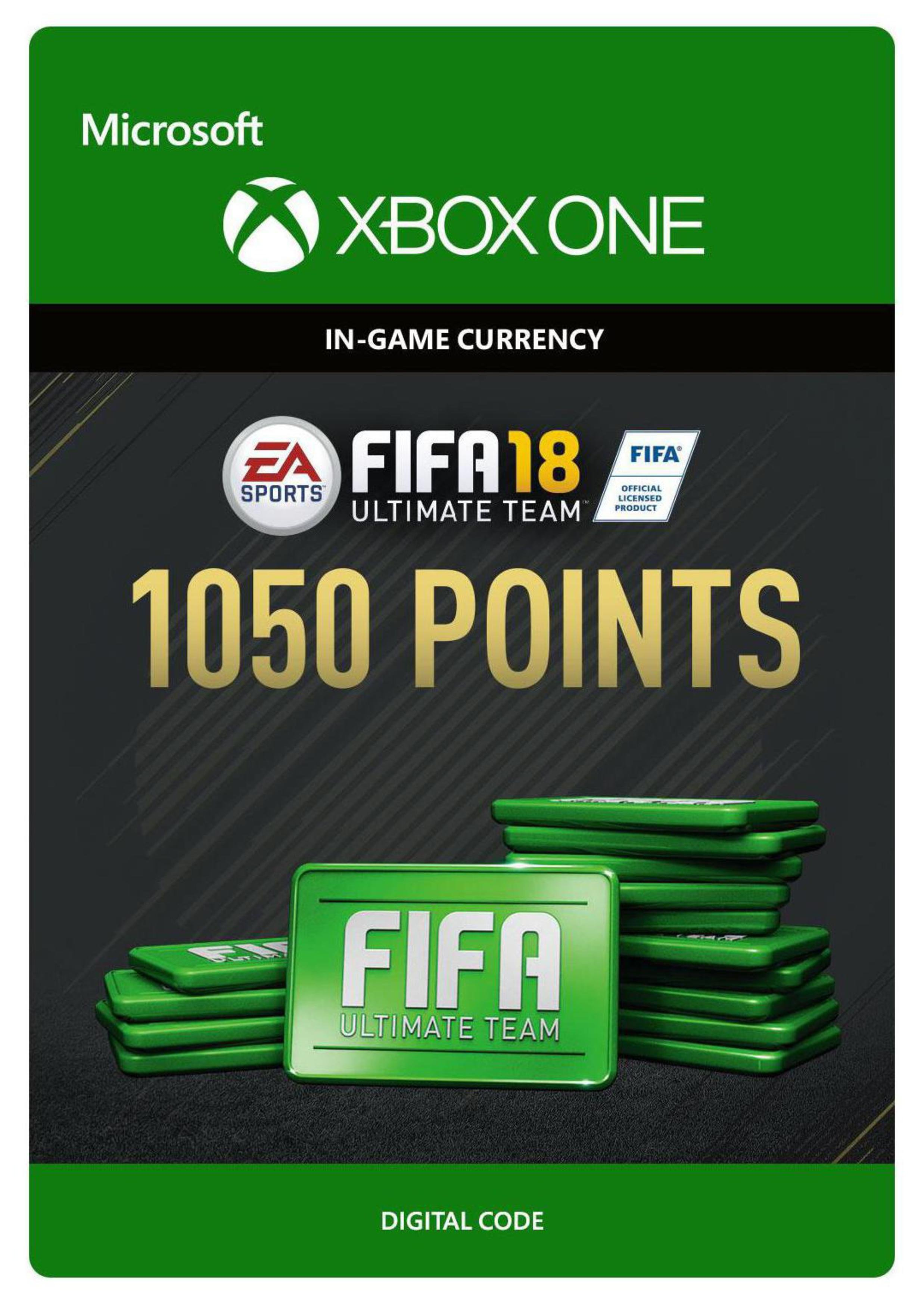 'Fifa 18 Ultimate Team - 1050 Points Xbox One Receipt Code