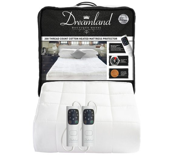 buy dreamland boutique single control electric blanket. Black Bedroom Furniture Sets. Home Design Ideas