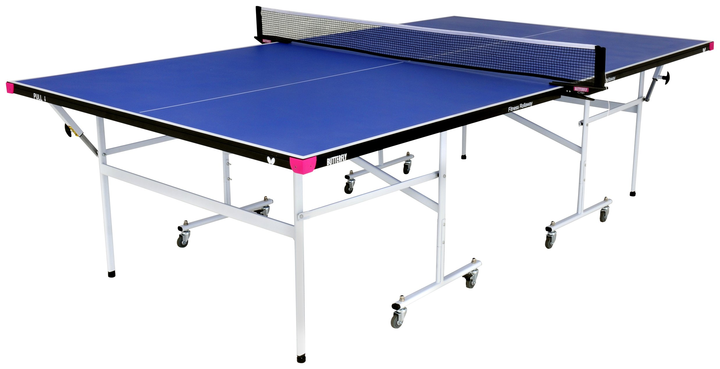 Image of Butterfly Fitness Blue Indoor Table Tennis Table