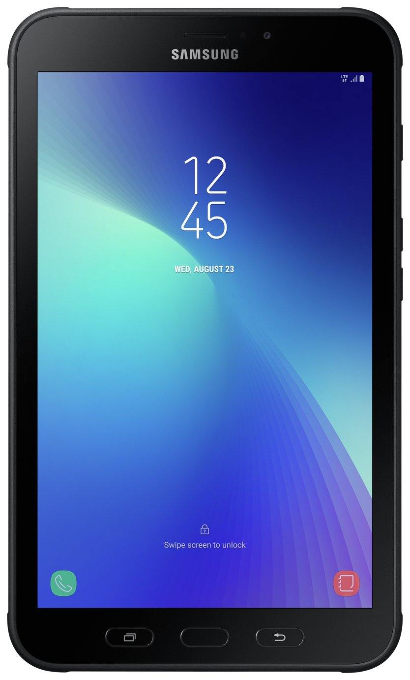 Samsung Galaxy Tab Active 2 8 In 16GB Cellular Tablet -Black