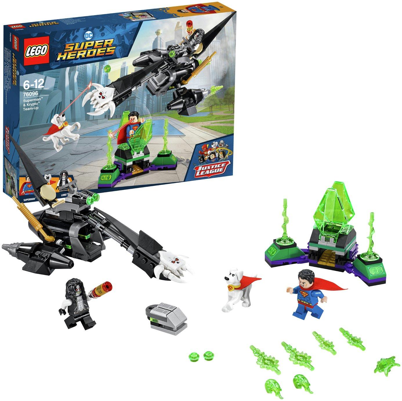 LEGO Super Heroes Superman & Krypto Team-Up - 76096