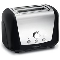 Morphy Richards 44261 Accents 2 Slice Dome Toaster - Black