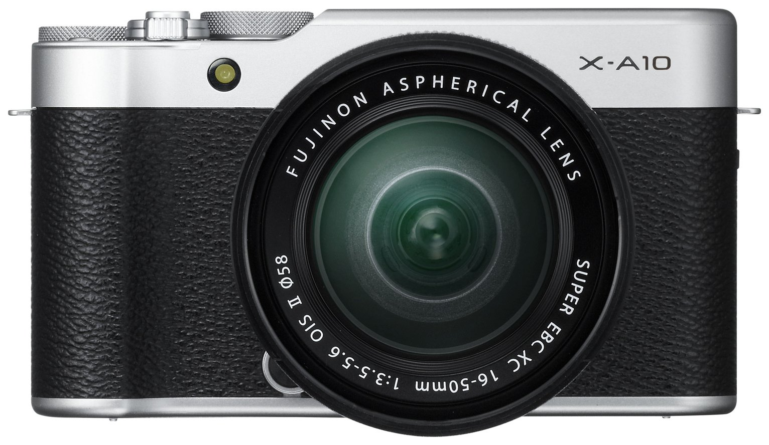 Image of Fujifilm X-A10 Mirrorless Camera With 16-50mm Lens Silver