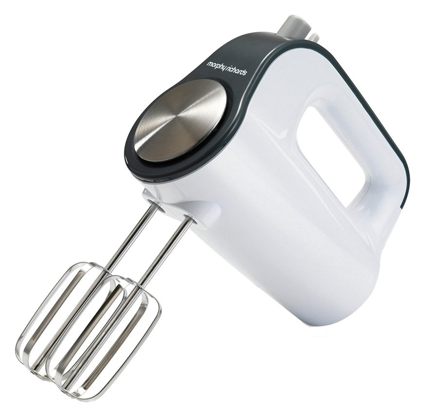 'Morphy Richards 400510 Electric Hand Mixer - White