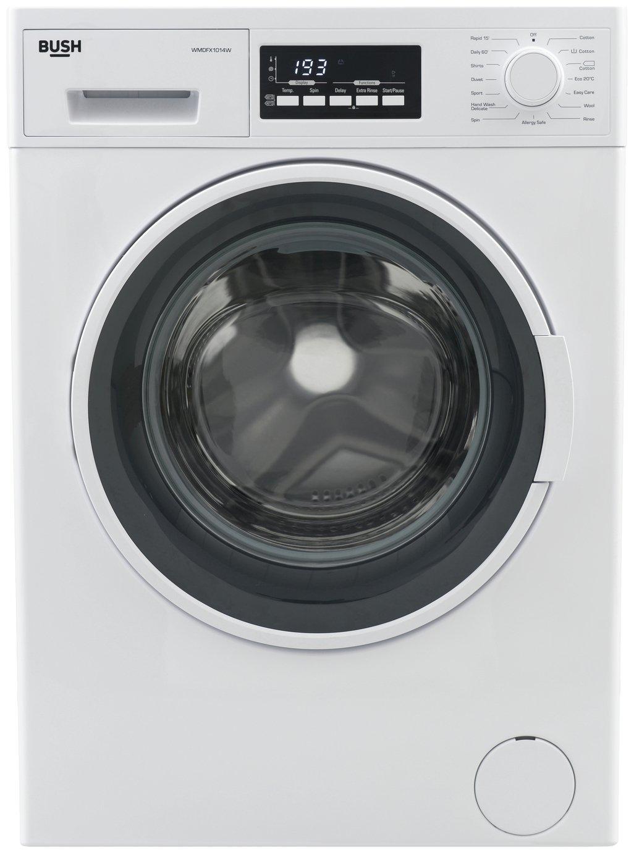 Bush WMDFX1014W 10KG Washing Machine - White + Installation