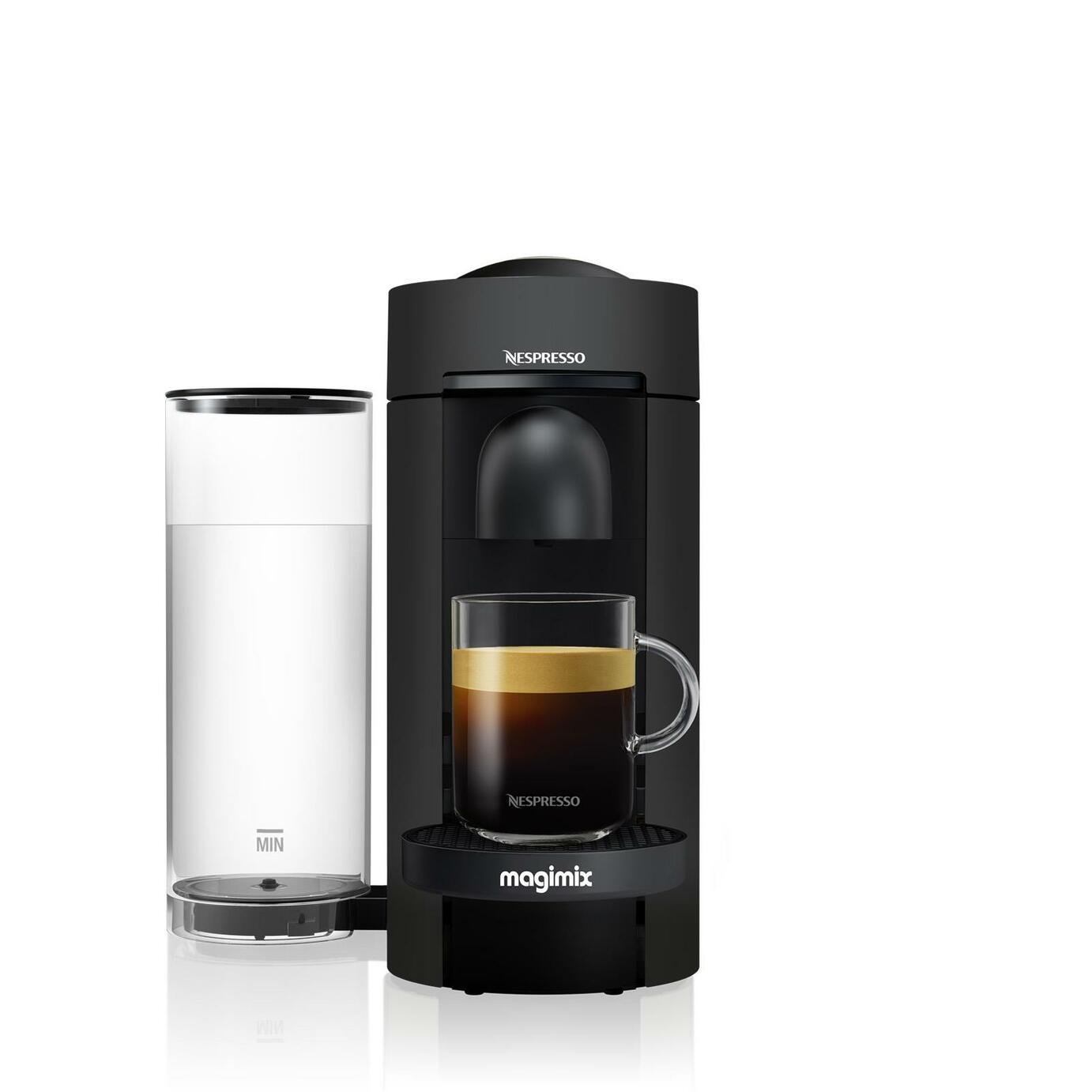 Nespresso by Magimix Vertuo Plus Pod Coffee Machine - Black