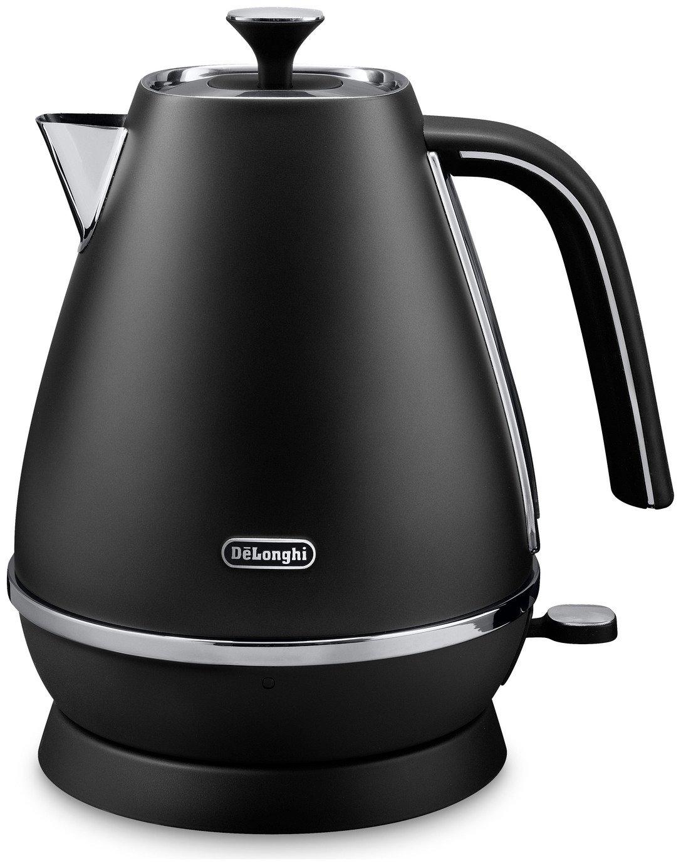 delonghi kbi3001 distinta kettle black kettles. Black Bedroom Furniture Sets. Home Design Ideas