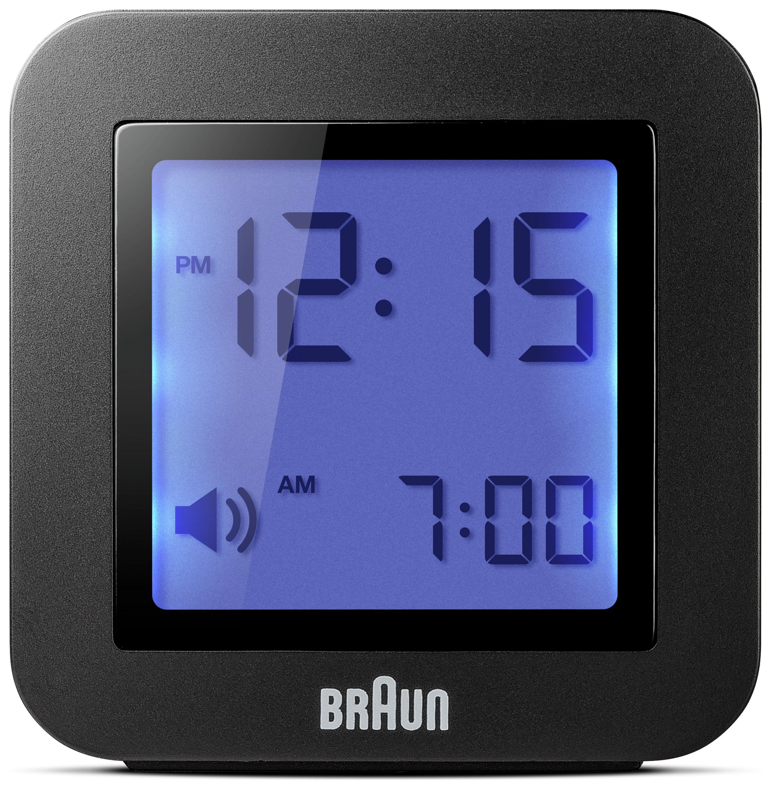 Image of Braun Digital Travel Alarm Clock - Black