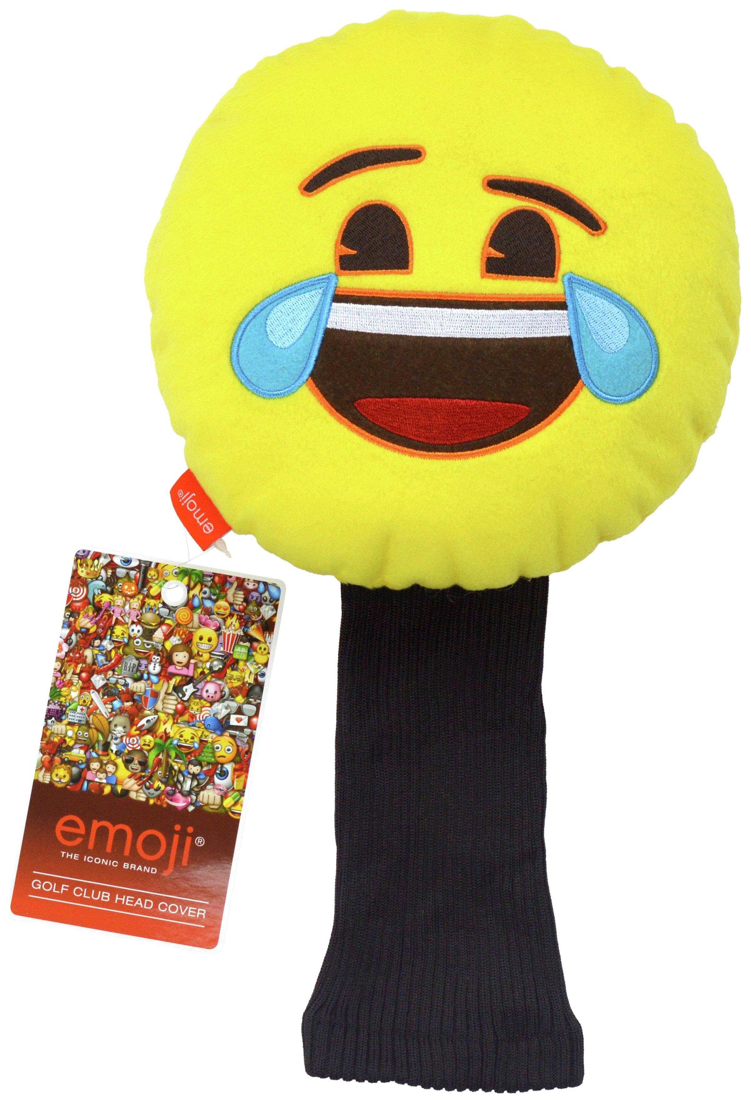 Emoji Golf Headcover - Laughing