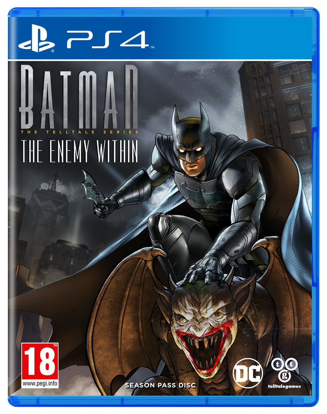 Image of Batman: The Enemy Within Telltale Series PS4 Game