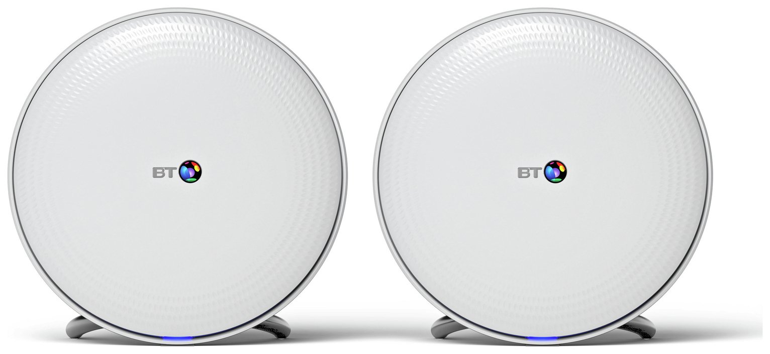 BT Whole Home Wi-Fi AC2600 Twin Pack