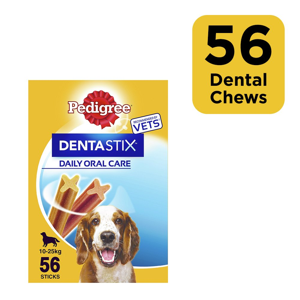 Pedigree Dentastix Daily Adult Medium Dog Dental Treats 56