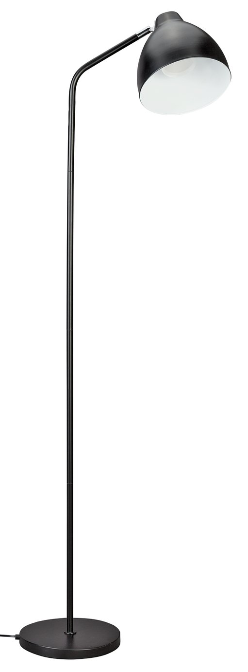 Argos Home Morlie Floor Lamp - Matt Black