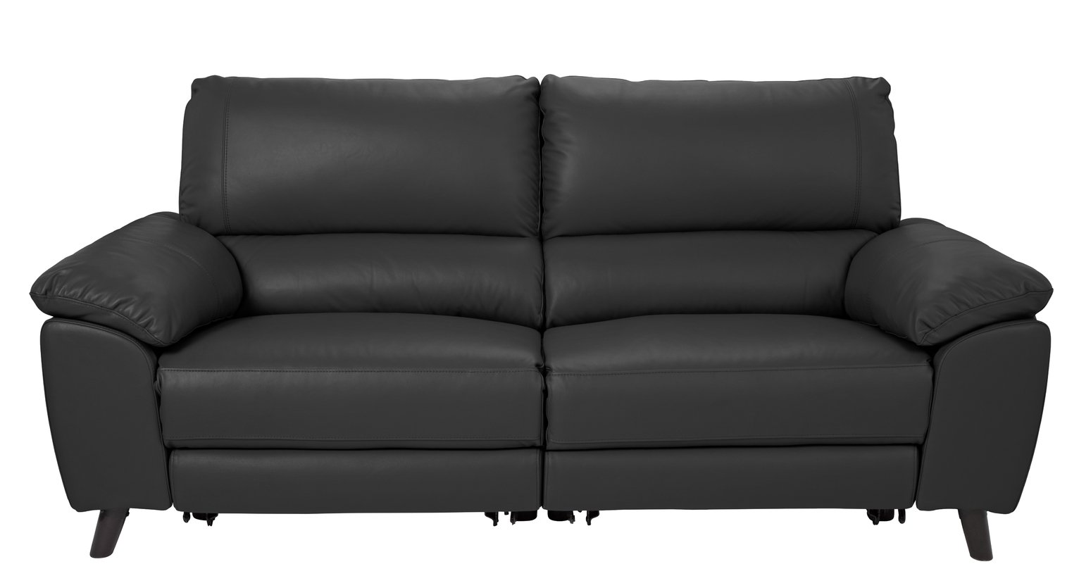 Hygena Hygena Elliot 3 Seater Power Recliner Sofa - Black