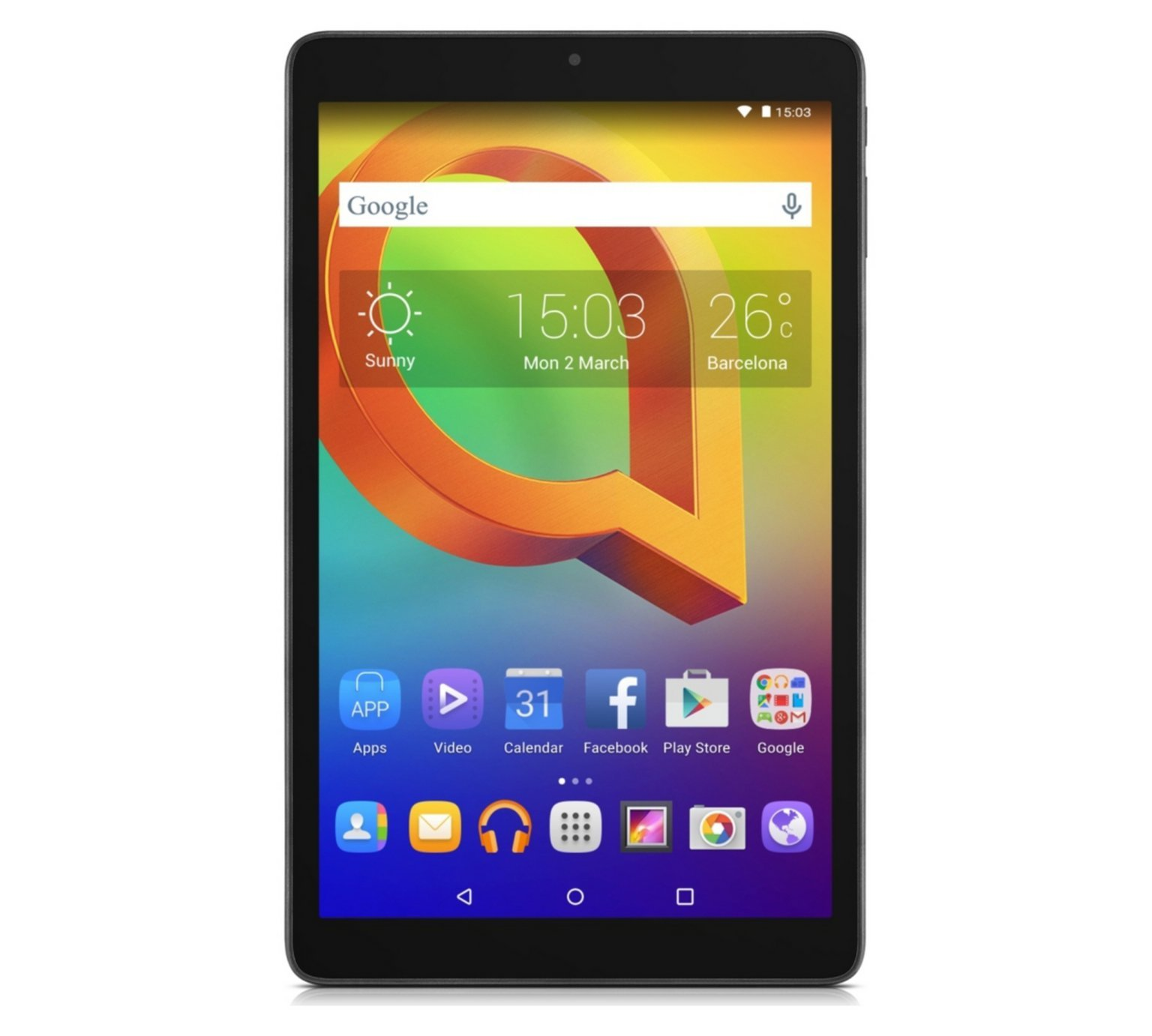 Image of Alcatel A3 10in Tablet 16GB - Black