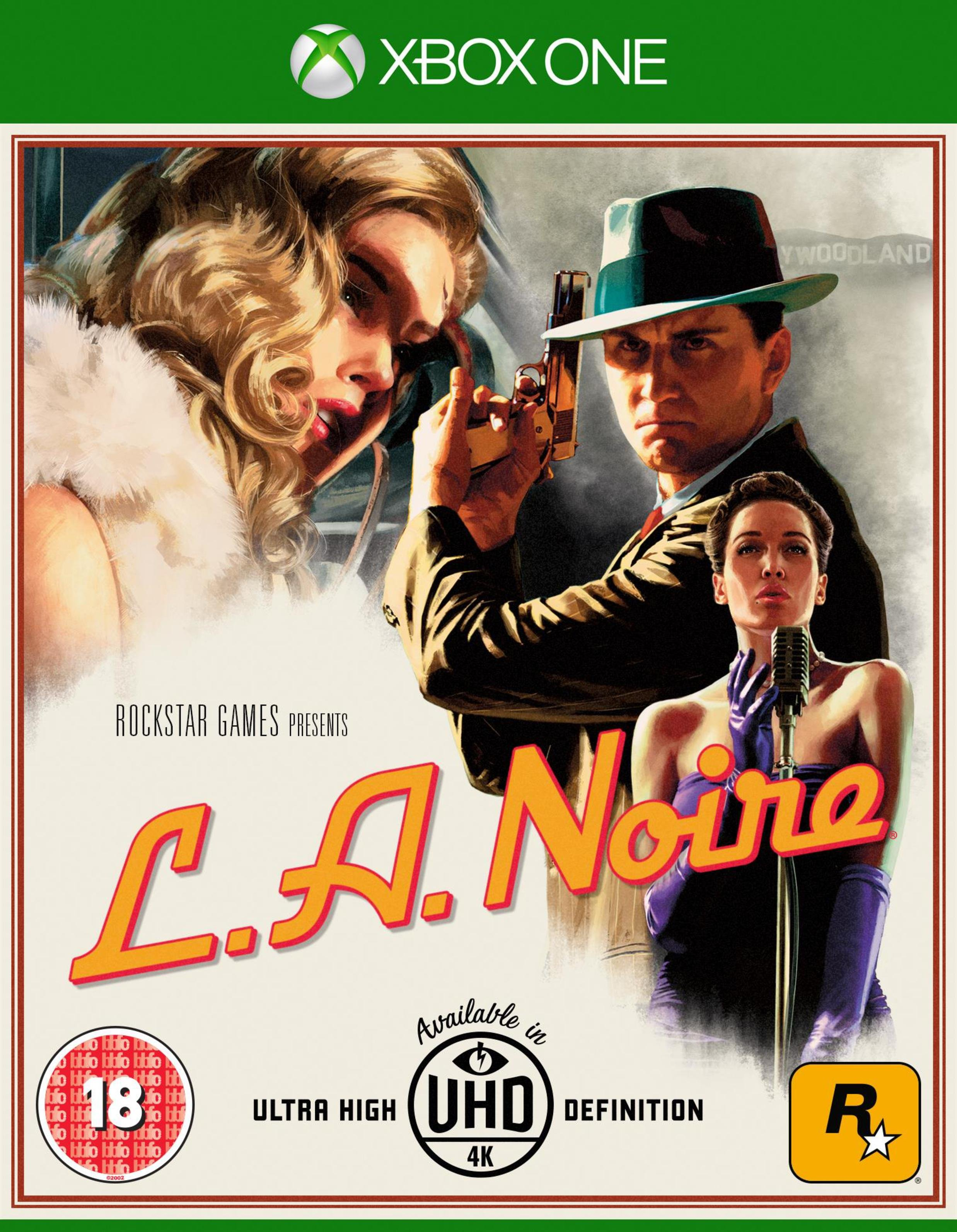 LA Noire Xbox One Game