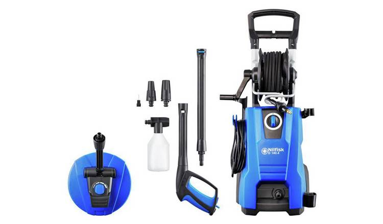 Nilfisk Dynamic 140 Pressure Washer/Patio Cleaner - 2400W