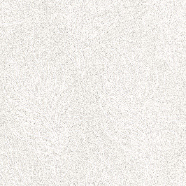 Graham & Brown Quill Wallpaper Pearl