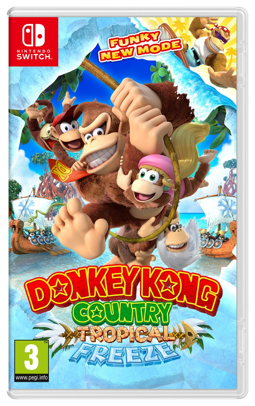 Image of Donkey Kong Country: Tropical Freeze Nintendo Switch Game