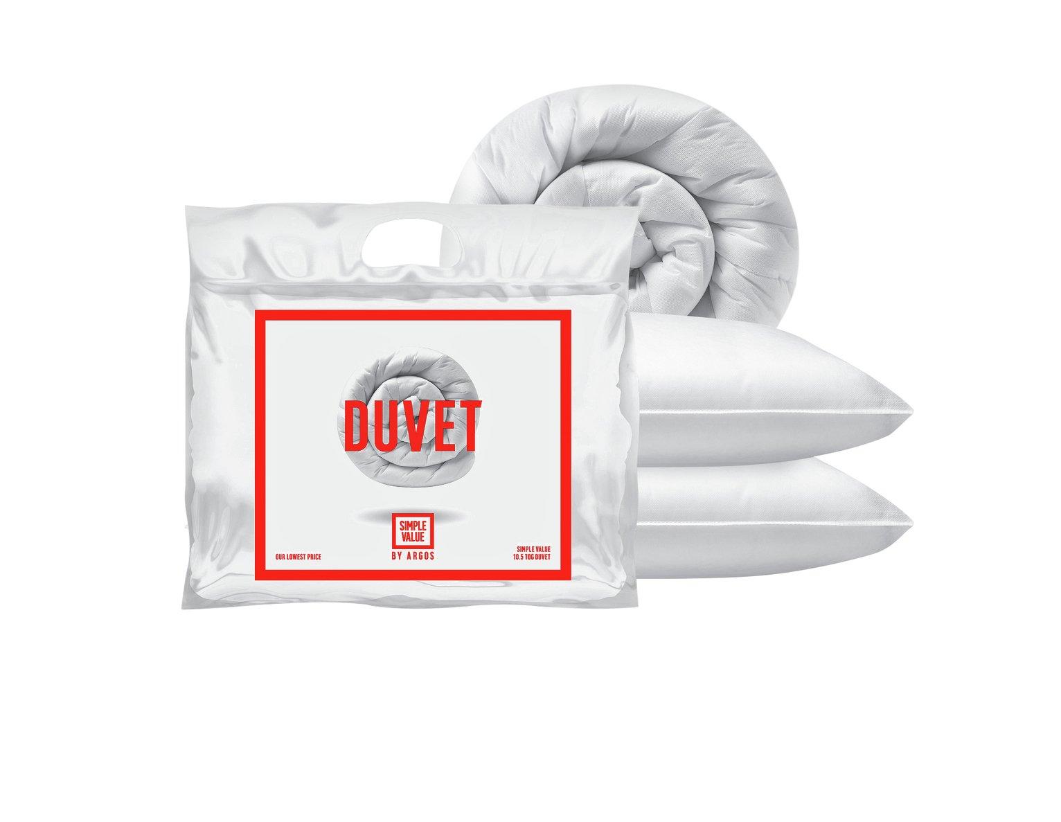 Argos Home 10.5 Tog Duvet and Pillow Set review
